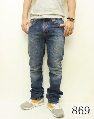 Nudie jeans Nudie jeans denim pants SLIM JIM 110932032 fs3gm