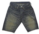 "SUGAR CANE sugar cane Oriental Enterprise SHORT PANTS ""sugar cane SWEET RECYCLE DENIM SHORTS SC50805H"