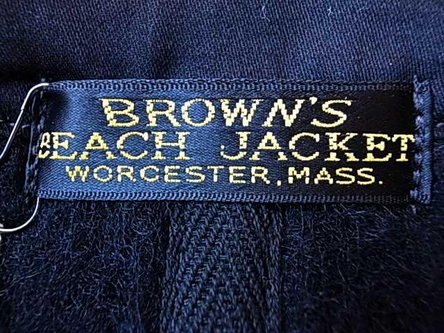 BROWN'S BEACH JACKET ブラウンズビーチジャケット