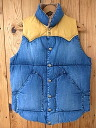 Rocky Mountain ★★ Rocky Mountain Feather Bed Rocky Mountain down vest DENIM INDIGO denim indigo