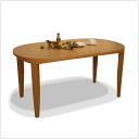 -Syokudo dining table, DT-397, oval (oval shaped) dining table, modern Scandinavian ...