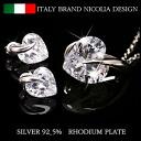Italy Bland ◆ silver925 귀걸이 목걸이 세트 비 알레르기/실버 악세사리/귀걸이/목걸이/실버 925 목걸이 귀걸이