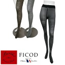 ★ plain! Up to two support-friendly ★ FICOD ladies tights patterned import foreign celebrities-France flower socks socks