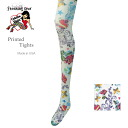 Ladies tights brand colors made in USA made in Italy fabrics pattern floral tattoo tights
