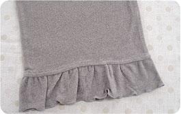 マタニティリラックスパンツ裾部分