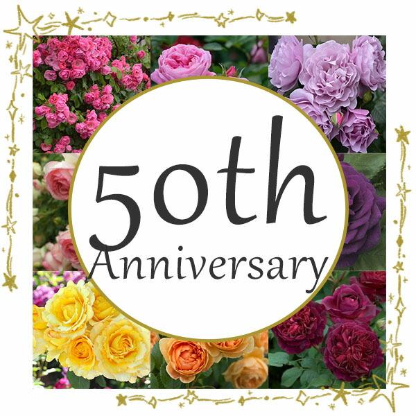 創業50周年記念セール
