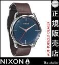 이용 쿠폰 2 천 엔 분 선물 중 닉슨 メラー A129879 닉슨 시계 여성 시계 NIXON 시계 NIXON MELLOR NAVY/BROWN 닉슨 시계 남성용 nixon 시계