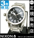 NIXON WATCH NA083000-00 51-30 Chrono BLACK