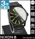 NIXON WATCH NA3561256-00 SENTRY SS ALL BLACK/LUM