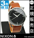 NIXON WATCH NA1291037-00 MELLOR BLACK/SADDLE