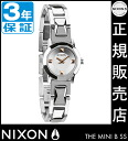 Review with coupon 2000 yen-present during ★ [regular 2 years warranty] NA339130 Nixon mini bee SS Nixon watch ladies watch NIXON watch NIXON MINI B SS SILVER Nixon watches waterproof nixon: total