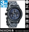 Review with coupon 8000 Yen-present during ★ [regular 2 years warranty] NA4041880 Nixon 38-20 CHRONO ALL DEEP BLUE CRYSTAL Nixon watches Womens watches NIXON watch NIXON 38-20 Chrono Chronograph Watch waterproof nixon watches Swarovski