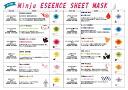 25 ml of Minju (ミンジュ) extract sheet masks
