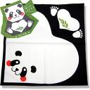 日式折纸样式 ☆ 动物首席熊猫你的手帕和跨 02p13nov14