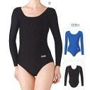 Sasaki /sasaki U neck long sleeve Leotard