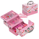 3-Stage makeup box バニティメイク box gorgeous/vanity case/maxed