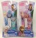 Ana and snow Queen Nail Polish, nail file, nail stecker, body glitter set children's /FROZEN / license genuine