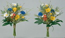 "Paradise Buddha of light? s art""and""artificial flowers""flower poppy 2 pieces"