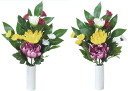 """Light """"art"""" and """"artificial"""" paradise on Buddha flowers small set of 2"""