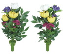 "Flower paradise Buddha ""art"" and ""artificial"" light set of 2"