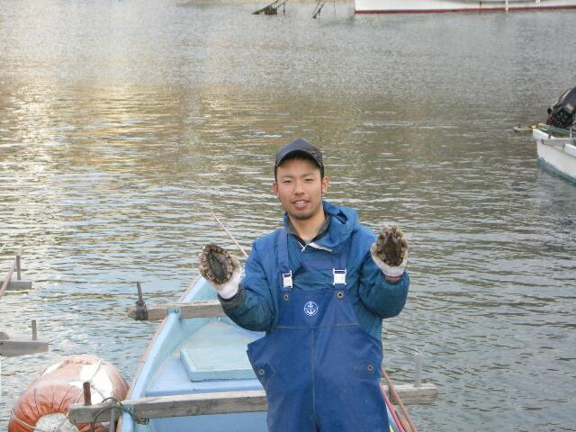 サザエ、アワビを貝専門漁 師が直売【日本海 漁師の店】