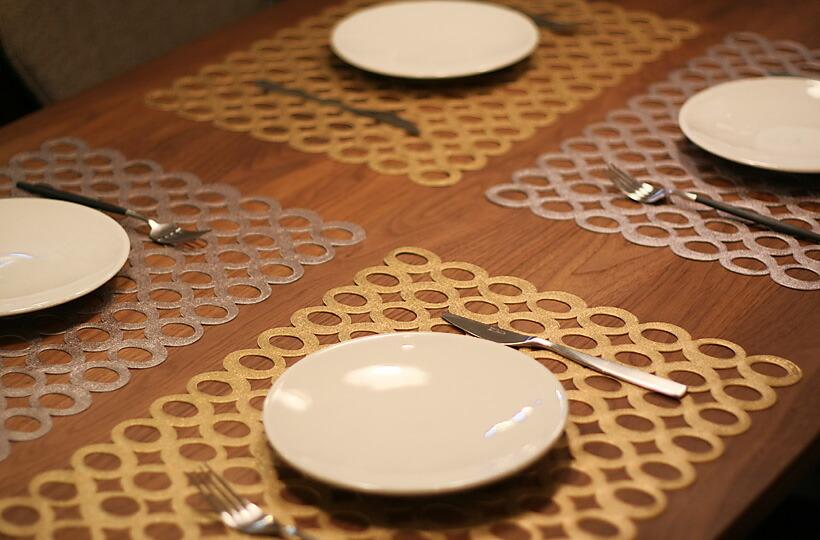 STYLE Deco  라쿠텐 일본: Chilewich/MOD 직사각형 테이블 매트 (48 × 36cm)