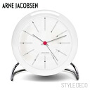 ARNE JACOBSEN and Arne Jacobsen BANKERS table clocks rock (white)