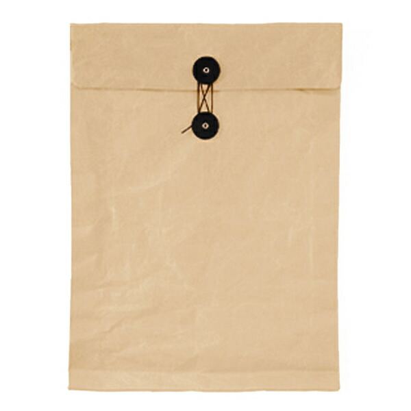 SIWA / 紙和 ひも付き封筒 ブラウン