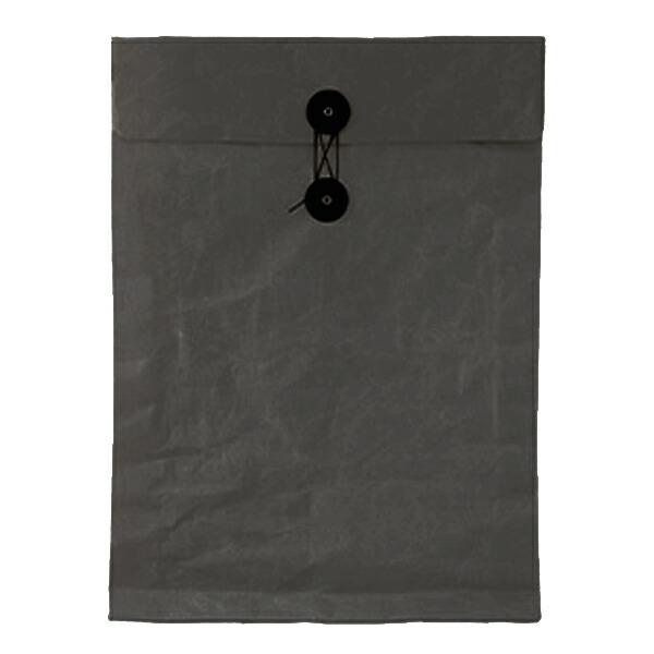 SIWA / 紙和 ひも付き封筒 ブラック