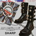 14 hall boots of the ☆ aggressive metal buckle where the thing shutting out the UNDERGROUND underground performance ahead has nobody