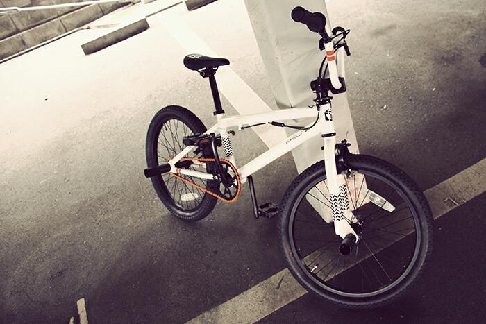 《だれでも気軽に楽しめるBMXを!》DOPPELGANGER 20インチBMX DUB STACK DX20-WH 普段使いを目的にパーツ・スベックを見直したBMXバイク