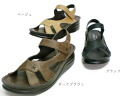Design casual Sandals ☆ easy with a magic belt. leather ☆ made in Japan * out of stock please contact us.