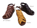 Leather ☆ back belt cross-woven Sandals ☆ made in Japan * out of stock please contact us.