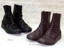 Kusyukusyu boots lectin 2 ★ leather ☆ made in Japan * out of stock please contact us.
