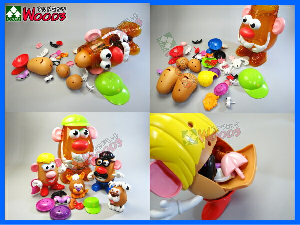�ߥ��������ݥƥȥإåɡ��ߥ����ݥƥȥإåɡ�Mr.Potato Head Mrs. Potato Head