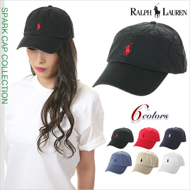 Ralph Lauren Cap Hat mens ladies logo RALPH LAUREN size adjustable plain baseball cap CAP casual sport B series Street hip hop dance costumes USA brand ...