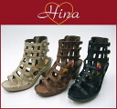 Hina Day Green 5111 Gladiator style casual boots