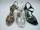 SE3010 clear type wedge-heel shoes sandals