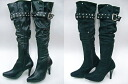 Venti Anni 57401 Filipa belted knee high boots
