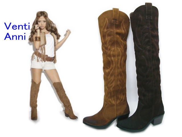 knee high womens cowboy boots | Gommap Blog