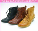 62372 Venti Anni Venti Methodand ☆ vintage finish-オックスフォードレース-up boots