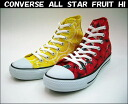 Converse all star fruit HI ALL STAR FRUIT HI