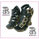 Venti Anni 93213 ☆ Venti Anni wedge sole and multiple Berton Gladiator sandals