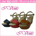 I Venti 94163 ☆ b-Venti by color flat sole sandals
