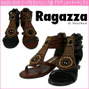 RAGAZZA 64119 ☆ ラガッツア beads and ethnic Gladiator sandals