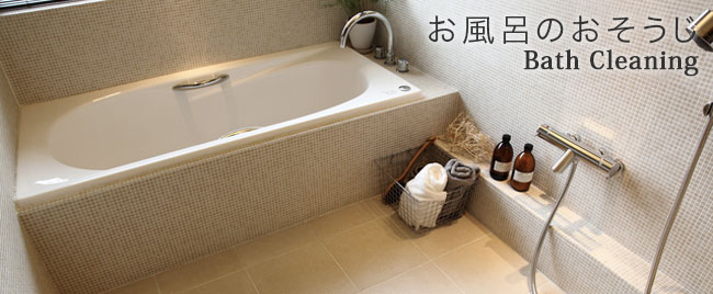 ����Ϥ�Υ��ӡ��奢�� Bath Cleaning