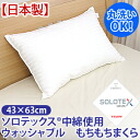 Teijin SOLOTEX (R) filling using soft pillow ( 43 x 63 cm ) 10P13oct13_b fs3gm