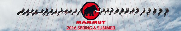 MAMMUT 2016 SPRING&SUMMER COLLECTION