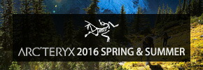 ARC'TERYX 2016 spring&summer collection