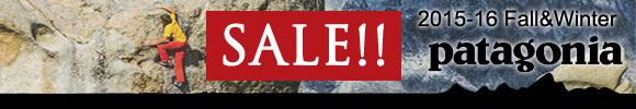 PATAGONIA 2015-16FW SALE
